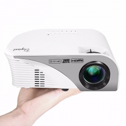 ELEGIANT Portable LED Projector 1200 LM Mini Multimedia Home Theater Projector